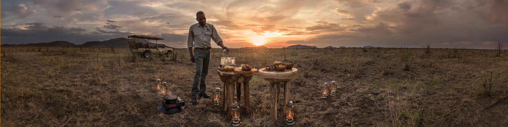 Bush Snacks at Madikwe Hills