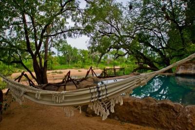 Hammock and Pool at Umlani