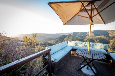 Stunning views of the Zuurberg Mountains, Camp Figtree