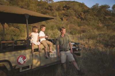 Family game drives at Tuningi