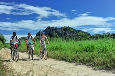 Cycling at Iharana Bush Camp