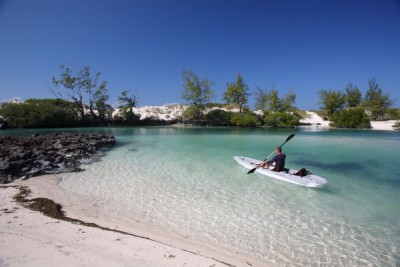 Kayaking in the pristine waters of Coral 15:41