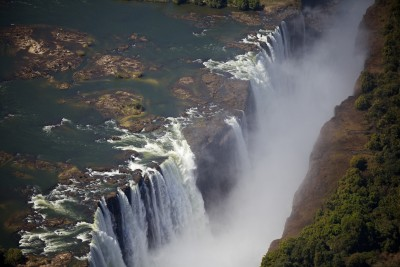 The mighty Victoria Falls!