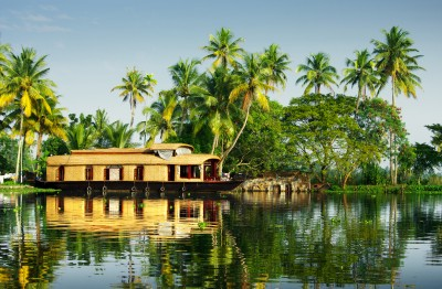 Your private Houseboat on the Backwaters