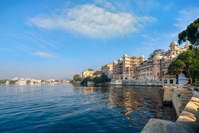 The lake city of Udaipur