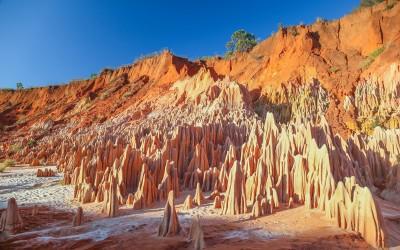 Red tsingy at Ankarana