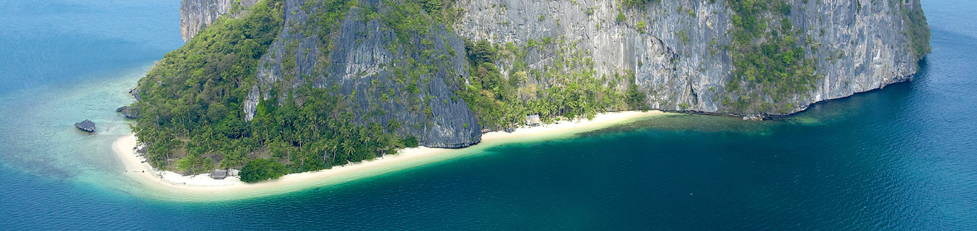 Philippines tourism PHI Island in Palawan header