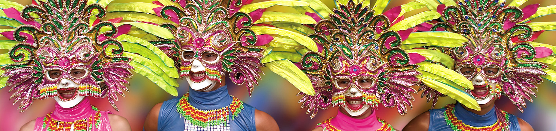Philippines tourism PHI Masskara Festival header