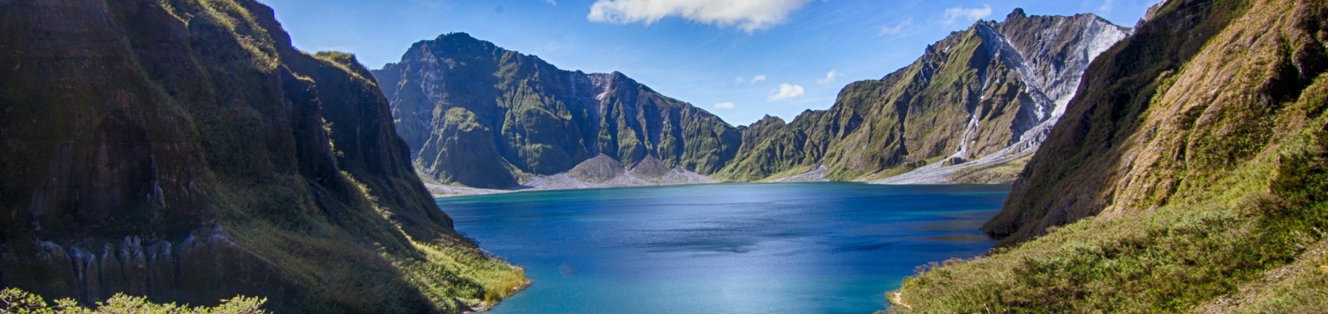 Philippines tourism PHI Mt. Pinatubo Crater header