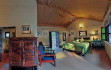 The family cottage at Chambal Safari Lodge