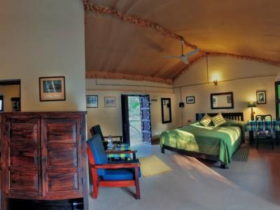 The family cottage at Chambal Safari Lodge