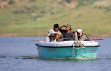A boat safari on the Chambal River