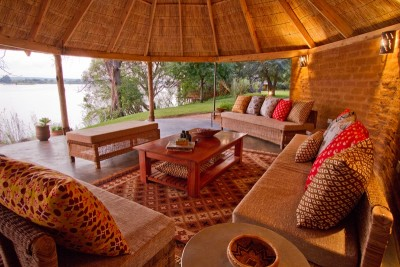The lounge with a view at Chundukwa