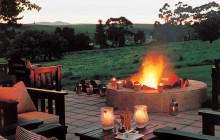 Campfire with a view at Blue Gum