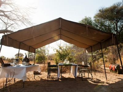 Dining, Kilimatonge Camp