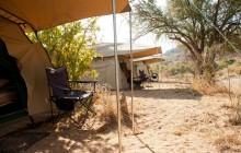 Tents at Kilimatonge Camp
