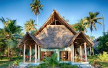 The large family bungalows at Butiama Beach, Mafia Island