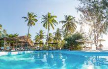 The beachfront pool at Butiama Beach, Mafia Island