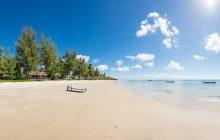 The beautiful beach at Butiama Beach, Mafia Island