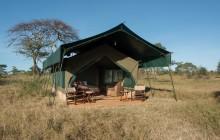 Tent Exterior, Chaka Camp