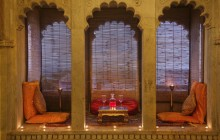 One of the romantic dining spots at Chanoud Garh