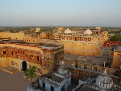 The 300 year old Chanoud Garh Palace