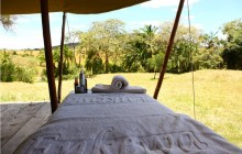 The spa at Enkewa Mara Camp!