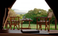 Your tent with a view at Enkewa Mara!