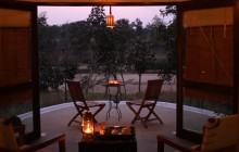 Romantic evenings on the veranda of your cottage!