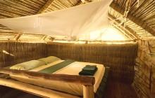 Cabana bedroom, Iharana Bush Camp