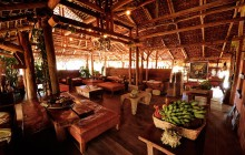 Restaurant, Iharana Bush Camp