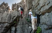 Hiking the tsingy, Iharana Bush Camp