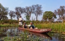 Mokoro safaris, one of the many activities at Machaba