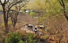 The viewing platform at Muchenje overlooking the Chobe River