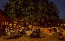 Dinners on the terrace at Royal Heritage Haveli