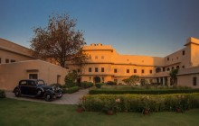 Arrive in style at the Royal Heritage Haveli