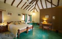 The cosy interiors at Sarai at Toria